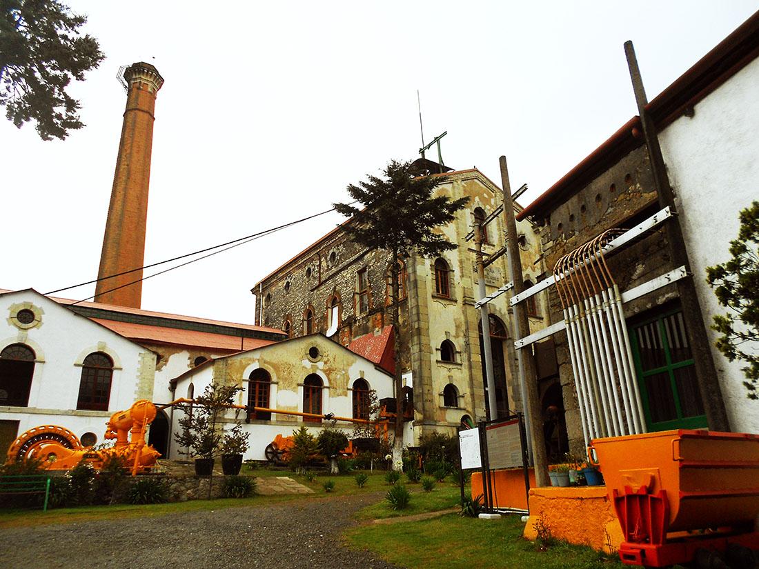 La Dificultad Mine Museum in Mineral del Chico
